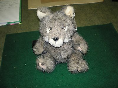 Vintage NWF Grey Wolf Plush Steven Smith Rare Vg NWT