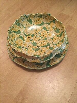 Ducal Salad Draining Dish And Plate