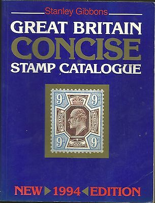 Great Britain Concise Stamp Catalogue 1994