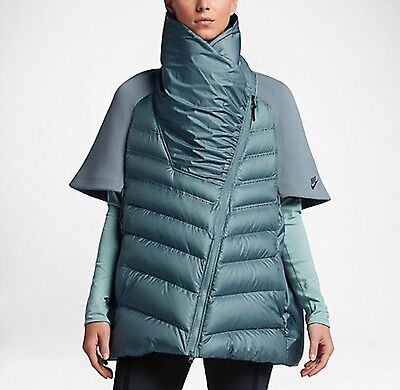 NIKE  WOMEN'S TECH FLEECE AEROLOFT  DOWN CAPE JACKET - Small - New With Tags