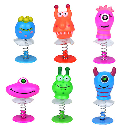 1-50 Pop Up Jumping Monster Kids Party Bag Fillers Toy Gift Childrens Prizes