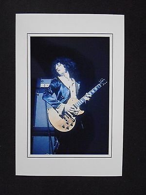 6X4 Gloss Photo of Marc Bolan Performing   (5)