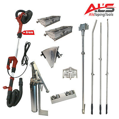 Level5 Full Set of Automatic Drywall Taping Tools w/ FREE Power Sander