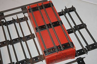 Hornby O Gauge One Dozen Straights With Original Box And Connectors