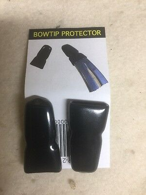 Rubber Bow Tip Protector,  Recurve Kwikee Kwiver 2 Per Pack