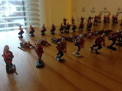 24th Foot Regiment and Zulu warriors. 138 plastic soldiers rare