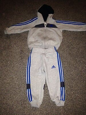 baby boys adidas tracksuit 12-18months
