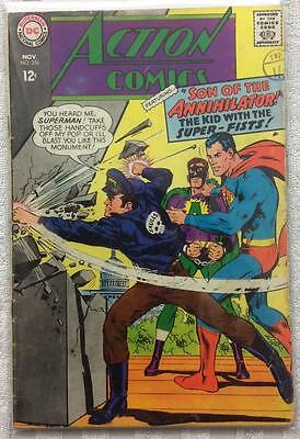 Action comics #356 (1st series 1967) VG condition. 49 year old classic.