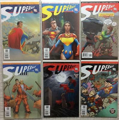 Superman (all star DC 2006) #1,3,4,5,6 & 7. High Grade condition.