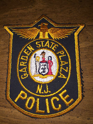 Garden State Plaza Police Paramus NJ Patch Rare Patch Defunct Agency