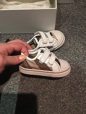 Baby Burberry Trainers