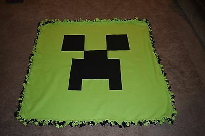 Creeper Minecraft Blanket Double Layer