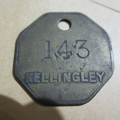 N.c.b,   Pit Check From Kellingley Colliery;.',
