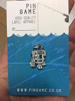 Star Wars R2D2 collectible enamel pin 1-inch sold out rare Force Awakens