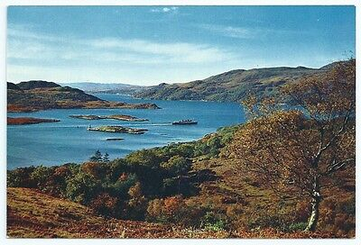 Vintage Postcard.  The Kyles Of Bute, The Narrows.  Unused. Ref:5/311