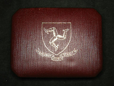 1975 Isle of Man 25 Pence Proof in box with insert