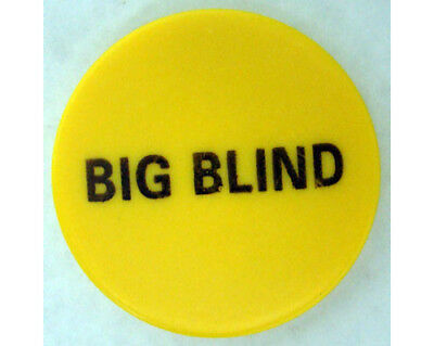"Big Blind Button 2"" Diameter Ceramic Poker Casino - Lammer"