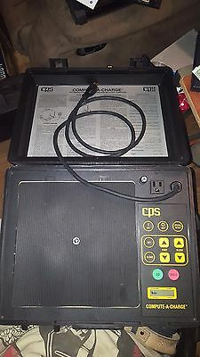 Cps Compute-A-Charge Cc-700 Electronic A/c Refrigerant Charging Recovery Scale