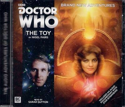DOCTOR WHO THE TOY Promo Only Big Finish Audio Book CD Sarah Sutton MEGA-RARE