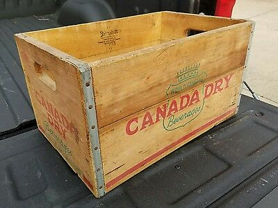 1953 Canada Dry Crate