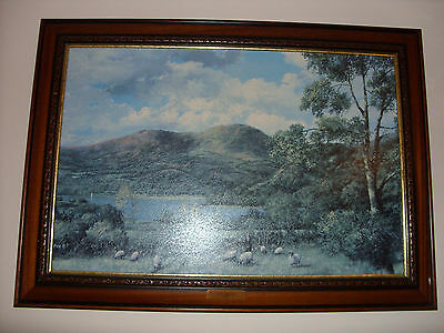Framed Art The Shepherd,  by Clive Madgwick.