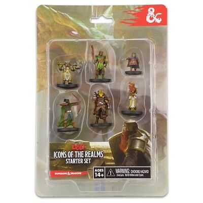 NEW D&D: IR: Starter Set WizKids Dungeons & Dragons Icons of the Realms 72778