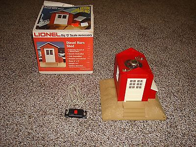 Lionel 027 0 Scale Lionel Diesel Horn Shed
