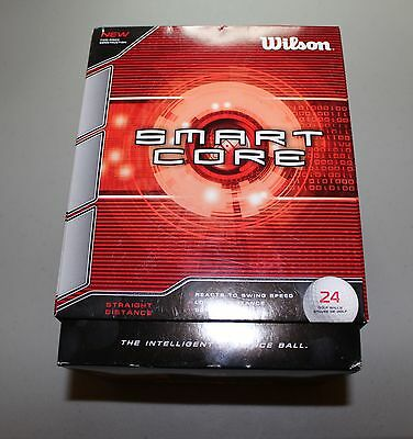 24 NEW Wilson Smartcore Golf Balls - FAST Shipping