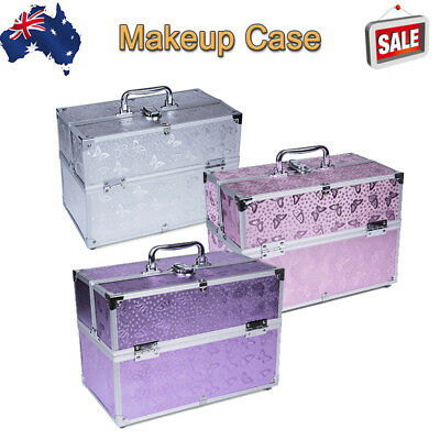 Professional Portable Cosmetics Beauty Case Makeup Case Box Travel Carry Bag