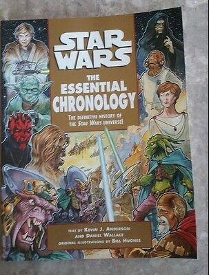 Star Wars: The Essential Chronology by Kevin J. Anderson and  Daniel Wallace