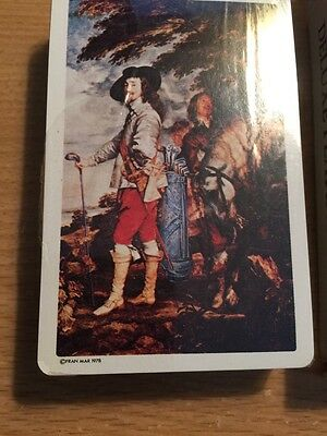 Van Dyke Playing Cards golf CHARLES I OF ENGLAND @1978 sealed US game systems