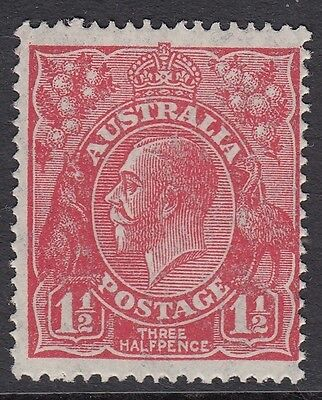 KGV 1 1/2d Red  mint  small multiple wmk  P14