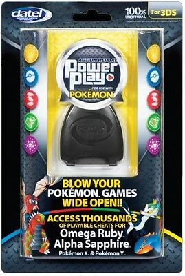3DS Datel Action Replay Power Play Pokemon