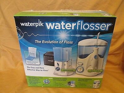 New Waterpik Water Flosser Ultra Kit Deluxe Dental Travel Case Oral Traveler