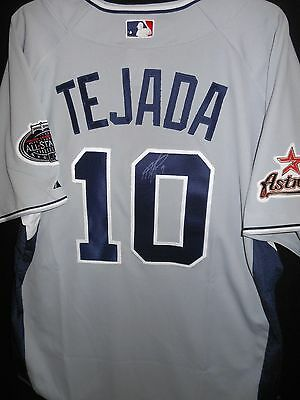 Miguel Tejada Signed 2008 All Star Jersey Authentic Majestic Houston Astros