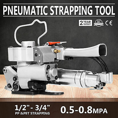 A-19 Hand-held Pneumatic Strapping Tools Strap Strapper Polyester Balers GOOD