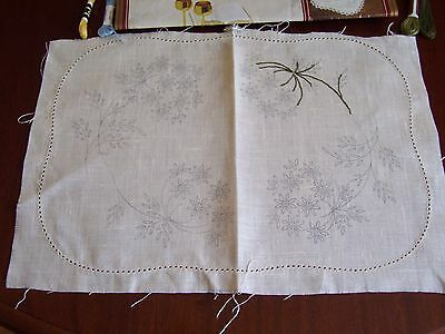 Vintage Quality Semco Embroidery  Design 561. Unfinished. 13 Inch X 9 Inch