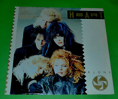 """Heart 12"""" 3 Track Ep Alone 1987 Uk Pressing 12Cl448"""