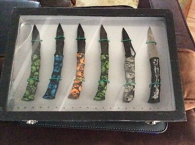 Skull Handle Knives Various Colours
