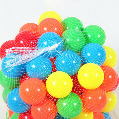 50Pcs/set Colorful Air-filled Pit Balls Play Houses Outdoor Party For Kids