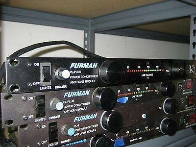 Furman PL-Plus Rack Mountable Power Conditioner with Voltmeter & Lights