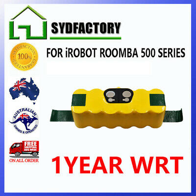 Battery For iRobot Roomba 500 3.5Ah Ni-MH HeavyDuty 510 530 580 630 537 550 560