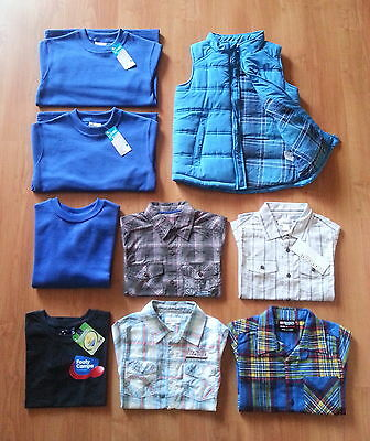 Bulk Lot Of Boys Clothing - 9 Items Brand New With Tags / Without Tags