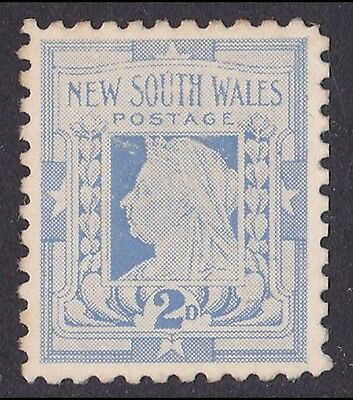 New South Wales 1897 QV 2d DIE PROOF COLOUR TRIAL EXTREMELY RARE !!