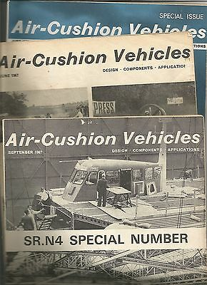 Hovercraft Mags Hovershow 1966 Special Issue Sr. N4 Detail Plans Air Cushion