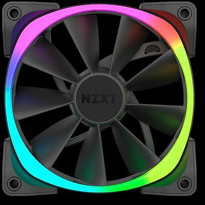 NZXT 140MM AER RGB Premium Digital LED light PWM High AirFlow 1500RPM Fan 4-Pin