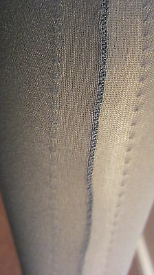 Vintage Stockings French Seamed Nylon Have A Lot Of These Never Worn Mip 9.5