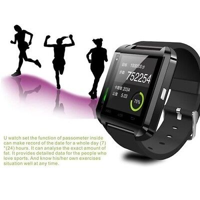 New Bluetooth Smart Wrist Watch Phone Mate For IOS Android Samsung iPhone HTC LG