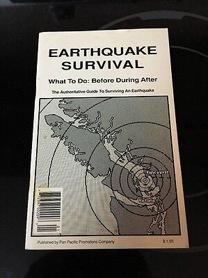 Interesting Canadian Vintage Manual On How To Survive An Earthquake Vancouver