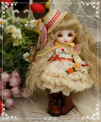 BJD YoSD Rosen Lied Monday's Child Limited CoCoA - Poisson rouge Outfit Set